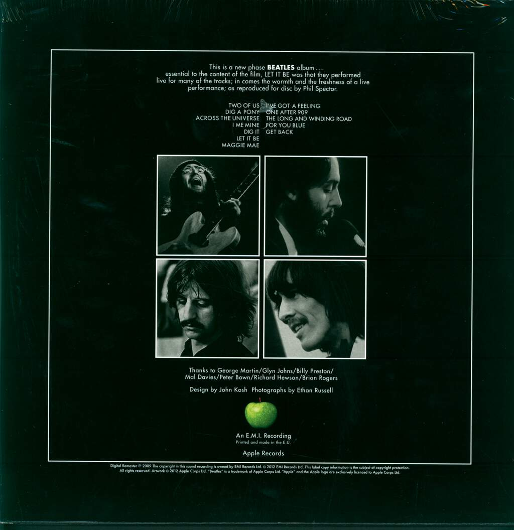 The Beatles: Let It Be, LP (Vinyl)