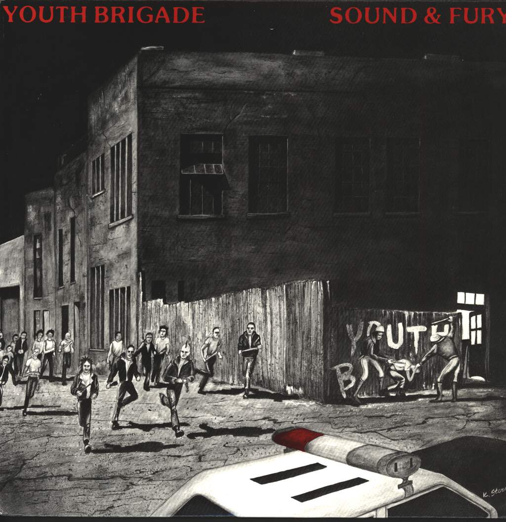 Youth Brigade: Sound & Fury, LP (Vinyl)