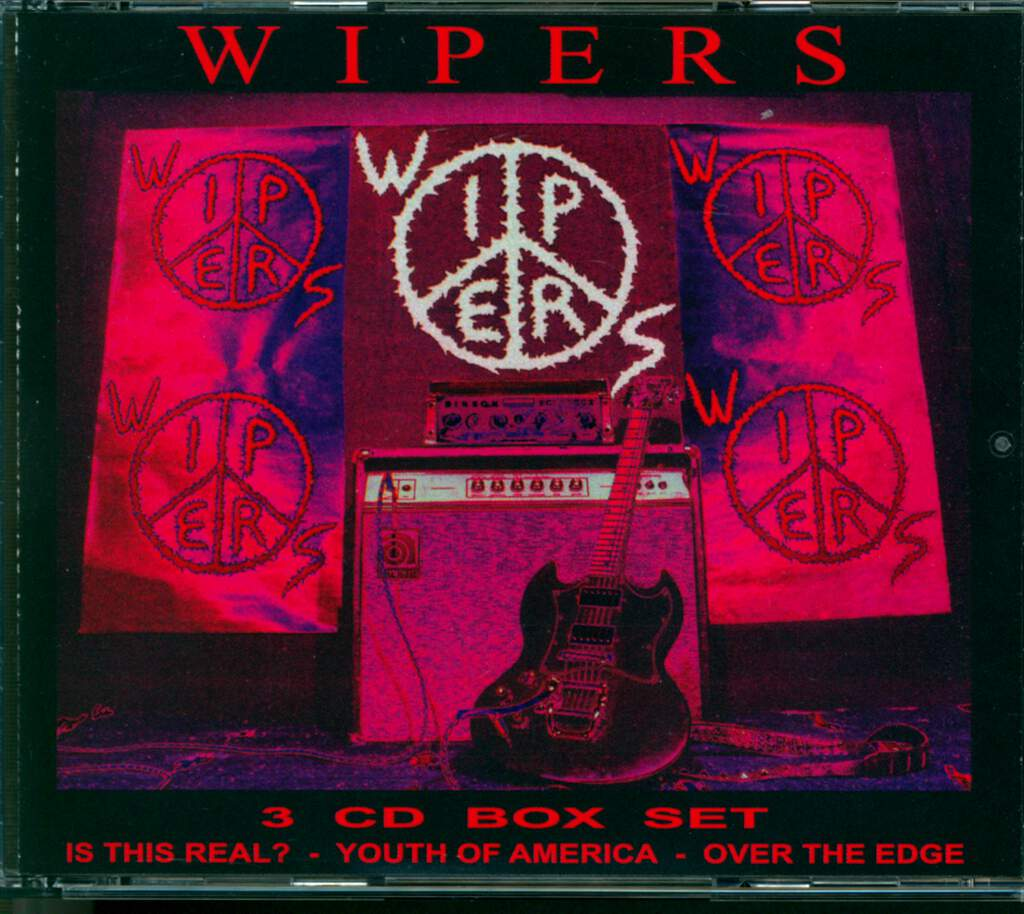 Wipers: Wipers Box Set (Is This Real? - Youth Of America - Over The Edge), CD