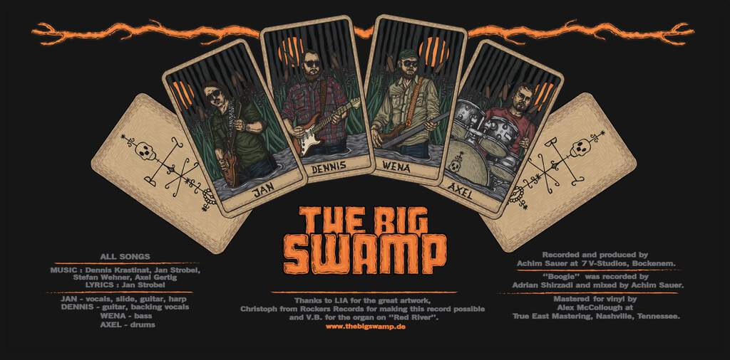 The Big Swamp: The Big Swamp, LP (Vinyl)