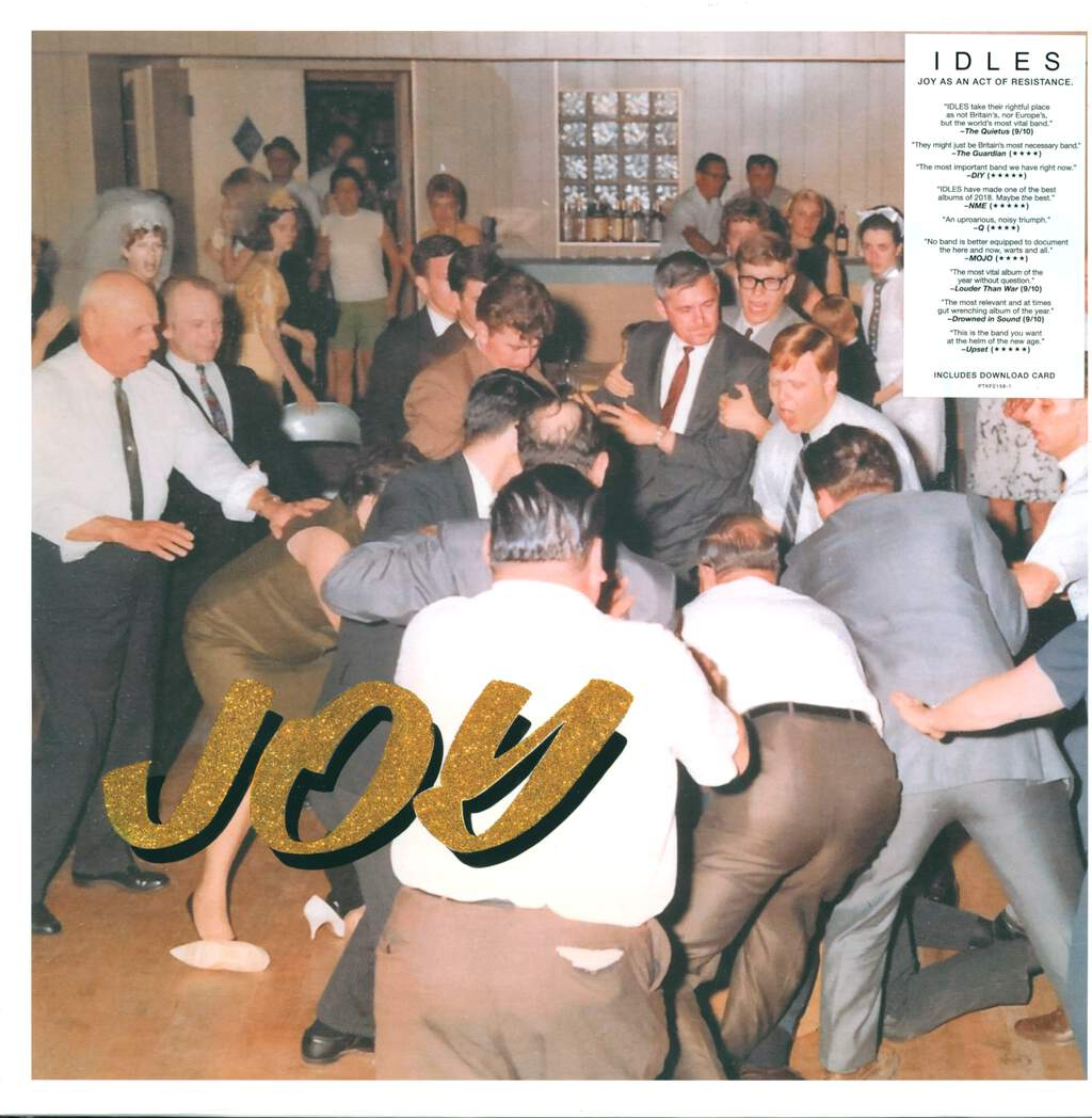 Idles: Joy As An Act Of Resistance, LP (Vinyl)