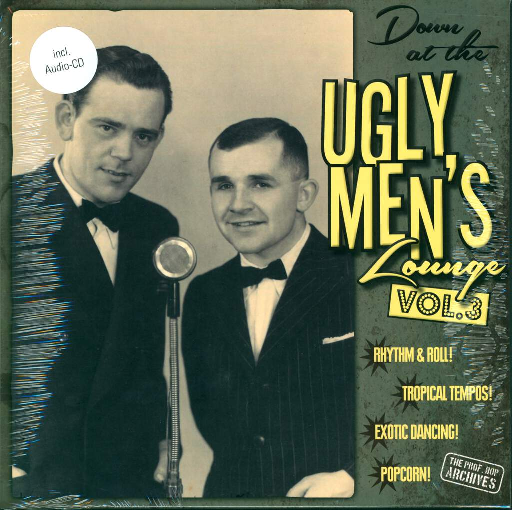 """Various: Down At The Ugly Men's Lounge Vol. 3, 10"""" Vinyl EP"""