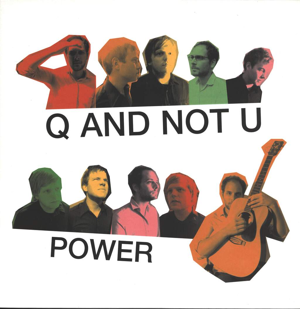 Q and Not U: Power, LP (Vinyl)