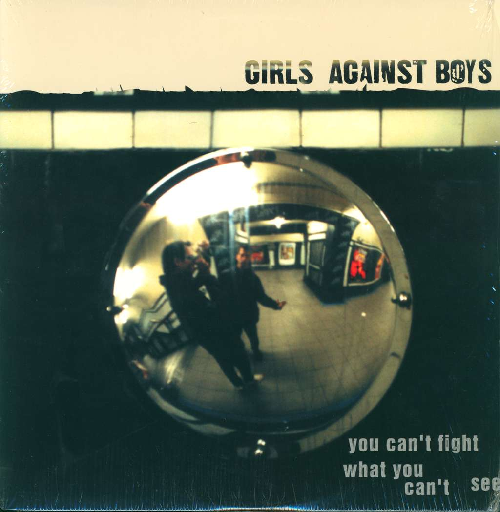 Girls Against Boys: You Can't Fight What You Can't See, LP (Vinyl)