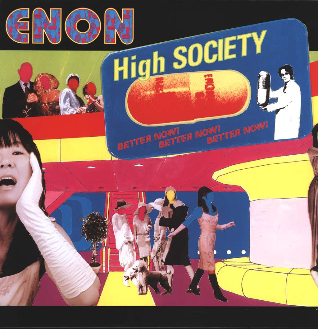 Enon: High Society, LP (Vinyl)