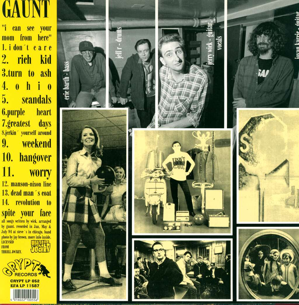 Gaunt: I Can See Your Mom From Here, LP (Vinyl)