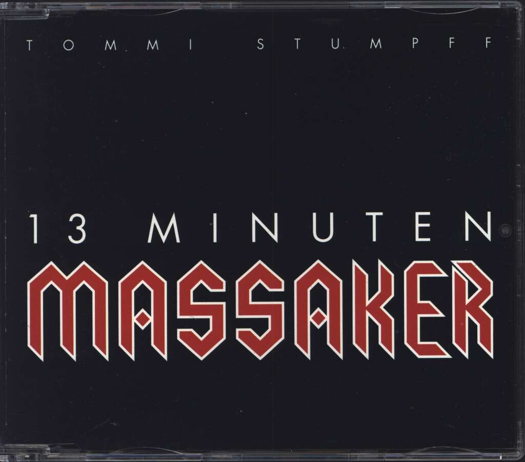 Tommi Stumpff: 13 Minuten Massaker, Mini CD