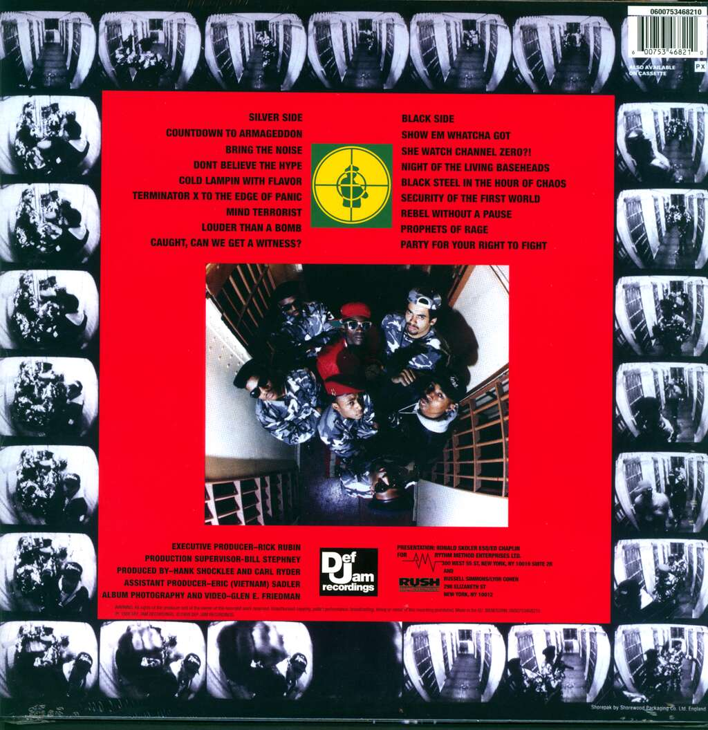 Public Enemy: It Takes A Nation Of Millions To Hold Us Back, LP (Vinyl)