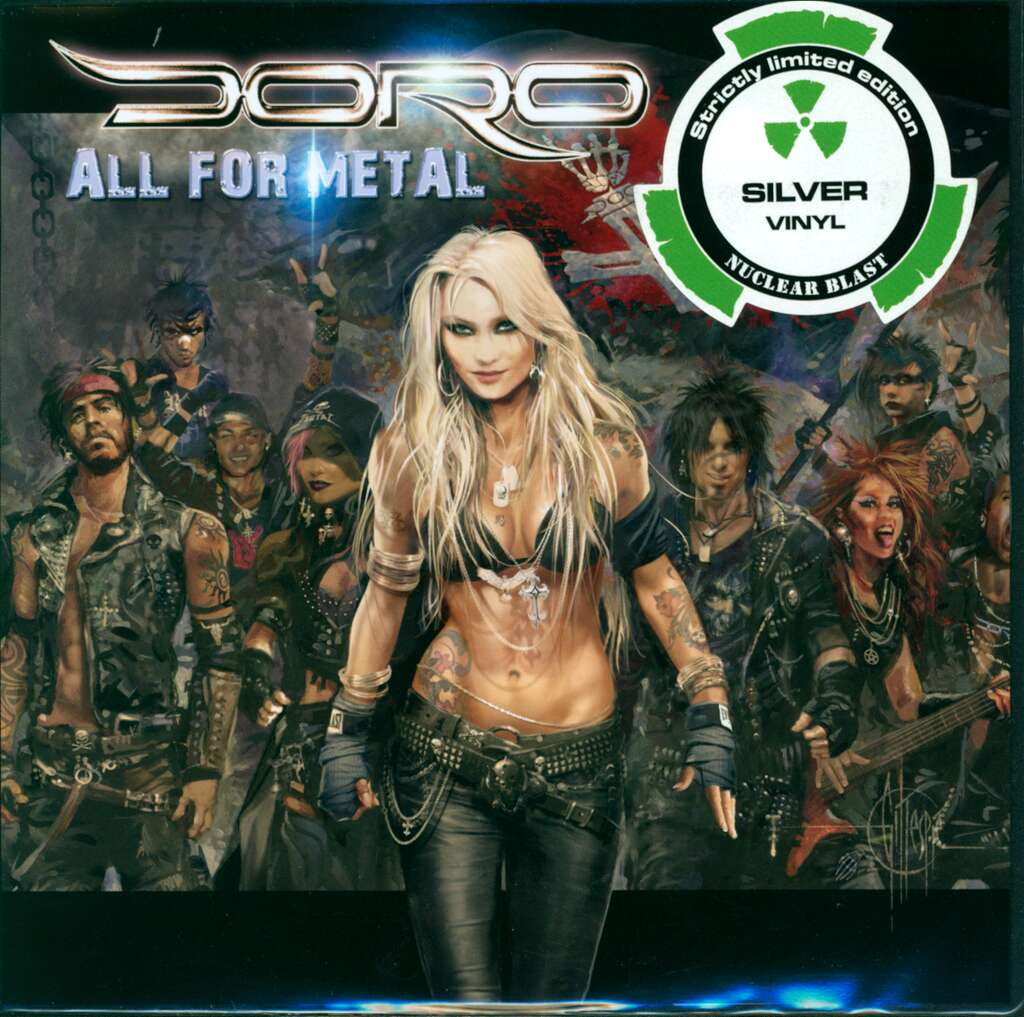 "Doro: All For Metal, 7"" Single (Vinyl)"