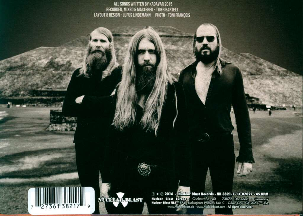 "Kadavar: A Thousand Miles Away From Home / Words Of Evil, 7"" Single (Vinyl)"