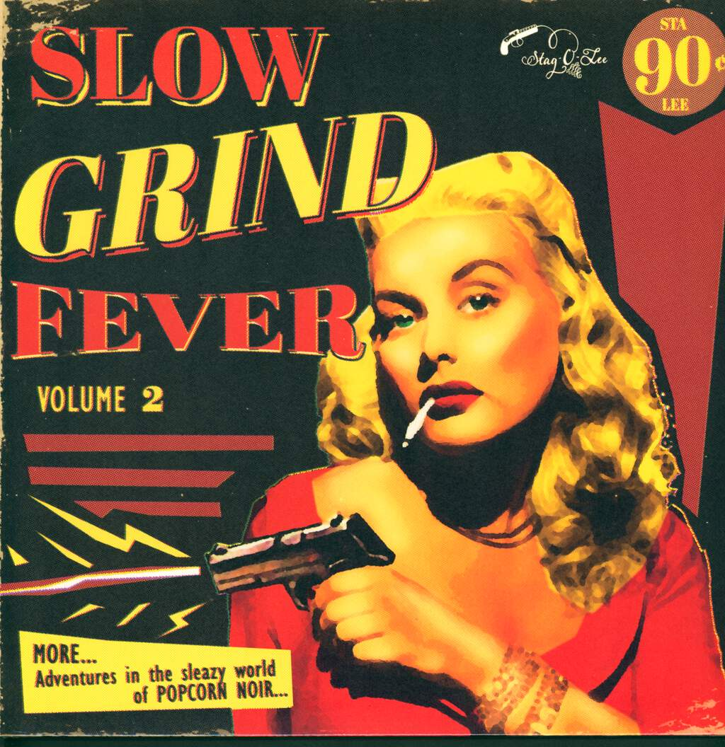 Various: Slow Grind Fever Volume 2 - MORE... Adventures In The Sleazy World Of POPCORN NOIR..., LP (Vinyl)