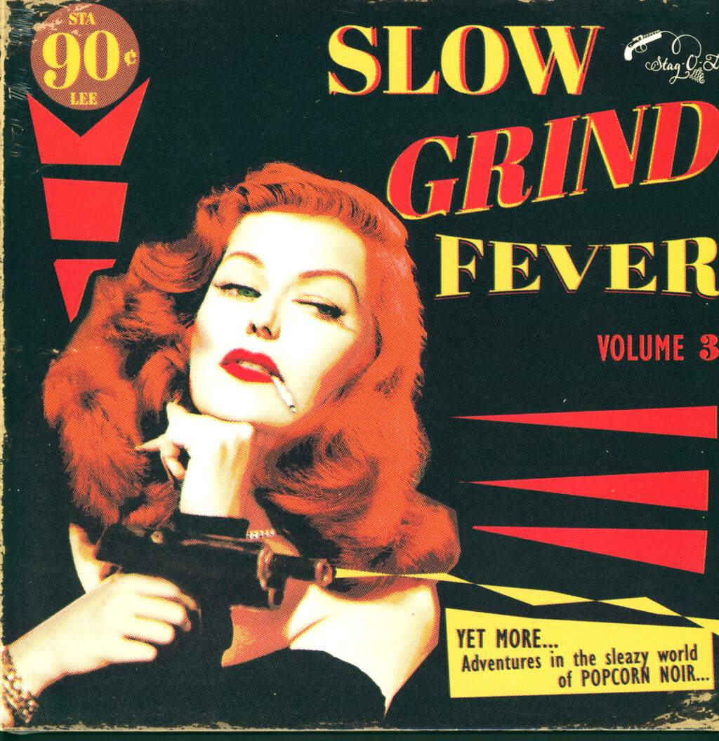 Various: Slow Grind Fever Volume 3 - YET MORE... Adventures In The Sleazy World Of POPCORN NOIR..., LP (Vinyl)