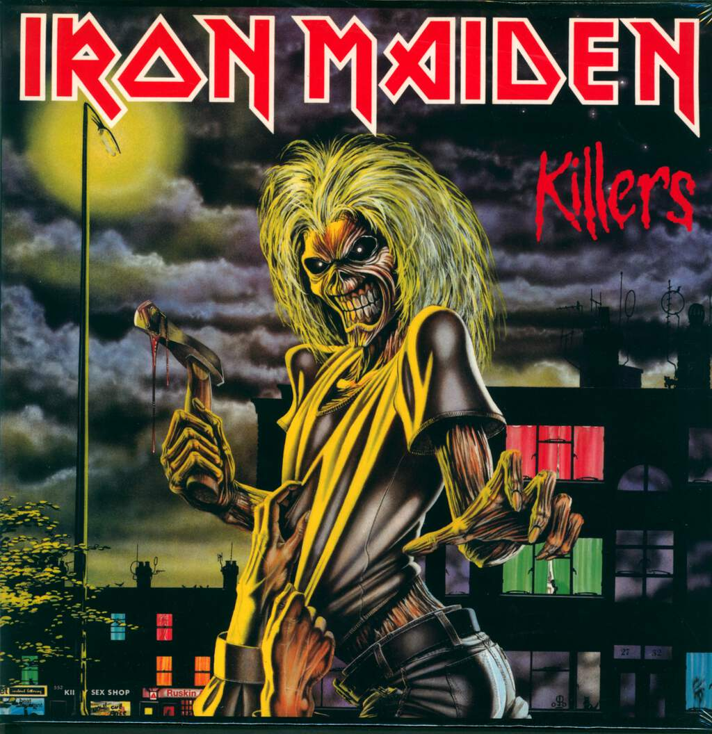 Iron Maiden: Killers, LP (Vinyl)