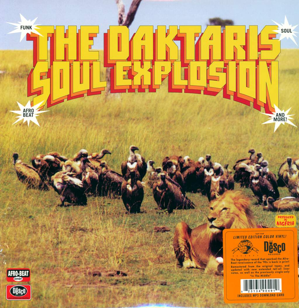 The Daktaris: Soul Explosion, LP (Vinyl)