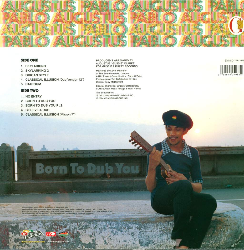 Augustus Pablo: Born To Dub You, LP (Vinyl)
