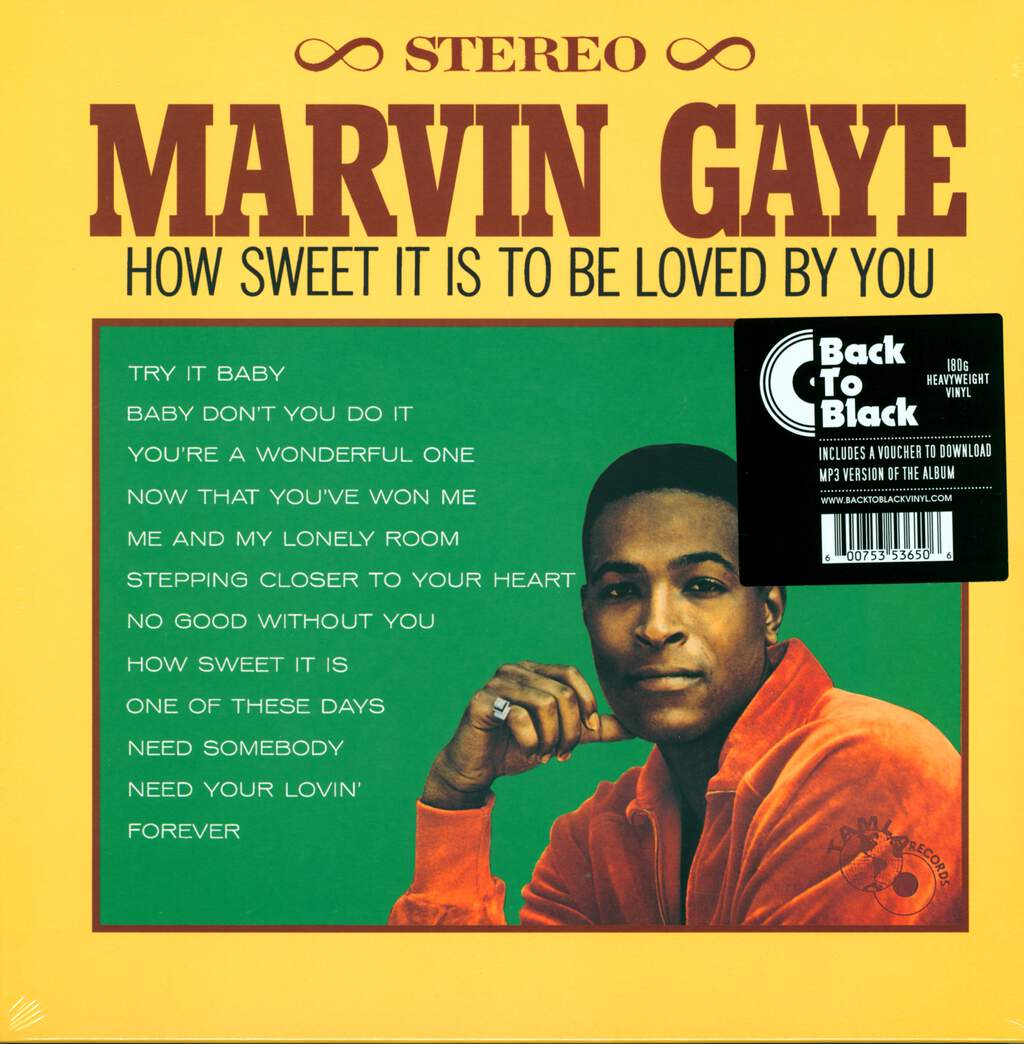 Marvin Gaye: How Sweet It Is To Be Loved By You, LP (Vinyl)