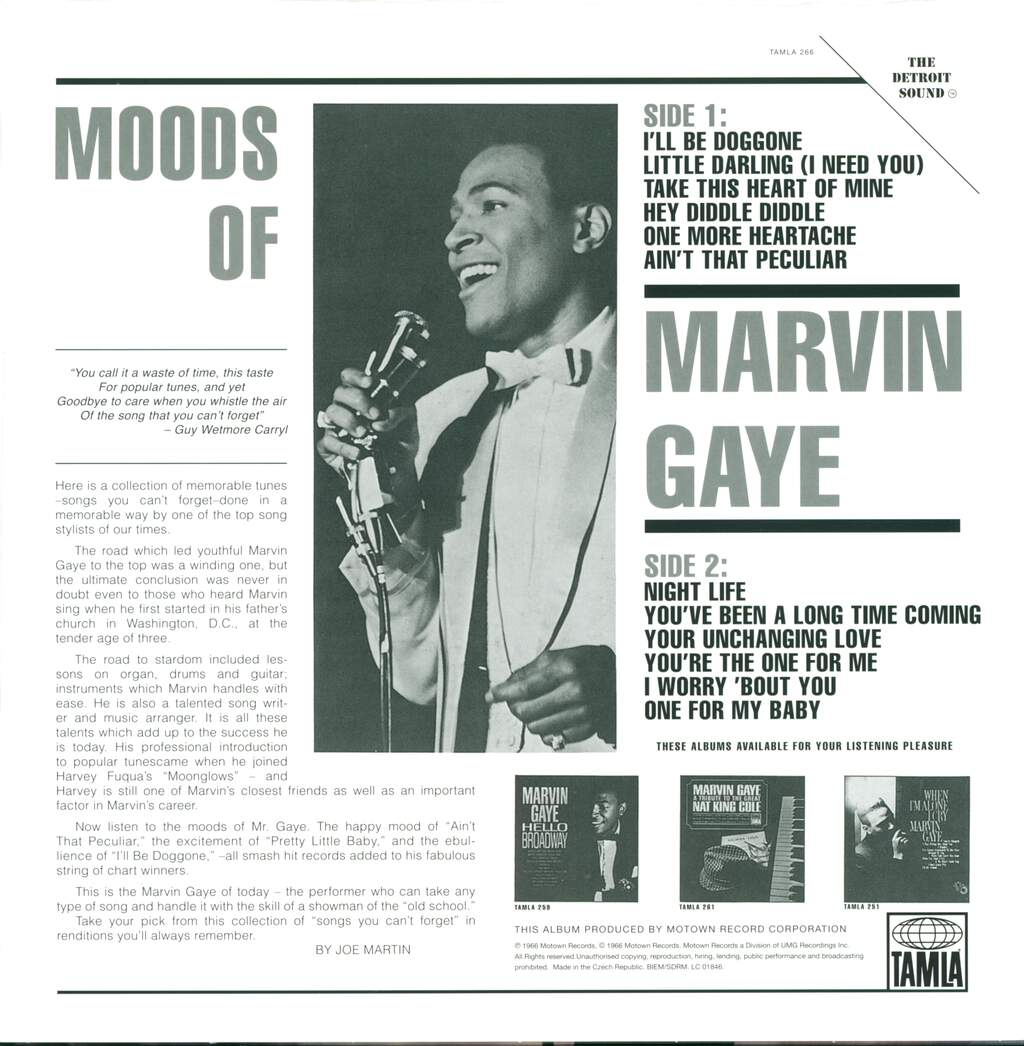 Marvin Gaye: Moods Of Marvin Gaye, LP (Vinyl)