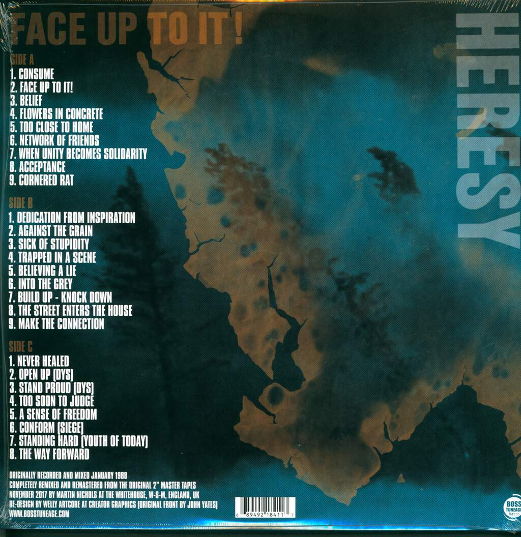 Heresy: Face Up To It! (Expanded 30th Anniversary Edition), CD