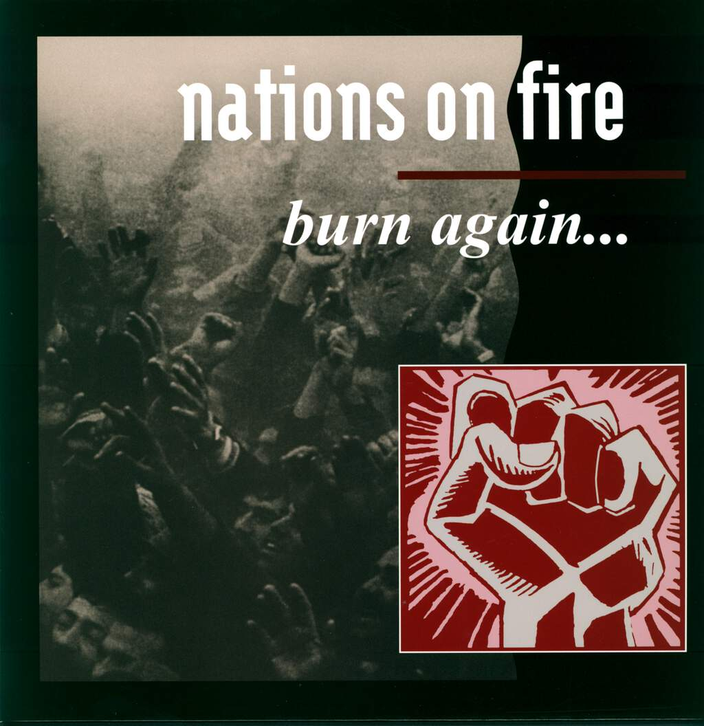 "Nations on Fire: Burn Again..., 12"" Maxi Single (Vinyl)"