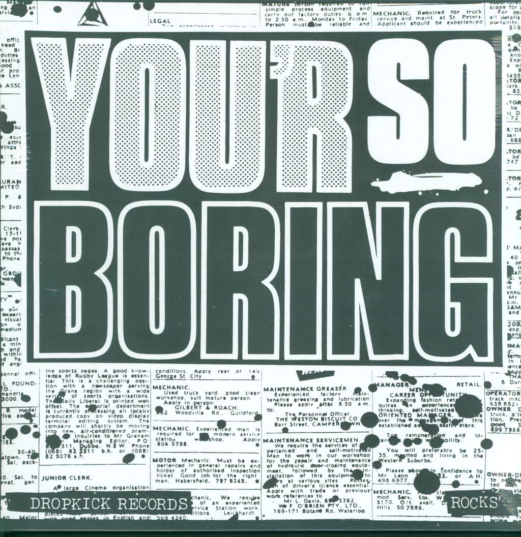 Rocks: You'r So Boring, LP (Vinyl)