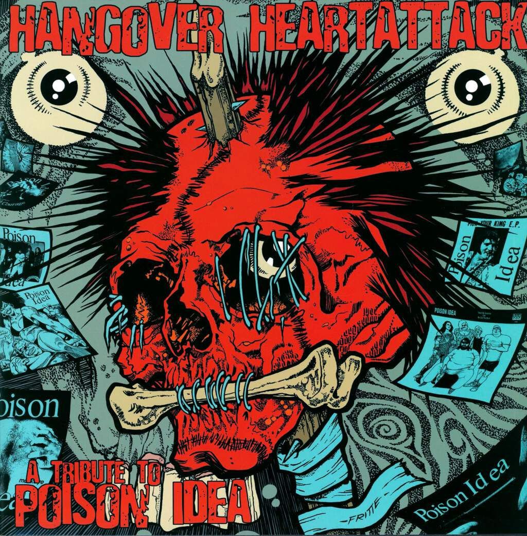 Various: Hangover Heartattack - A Tribute To Poison Idea, LP (Vinyl)
