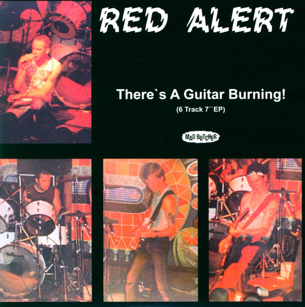 "Red Alert: There's A Guitar Burning!, 7"" Single (Vinyl)"