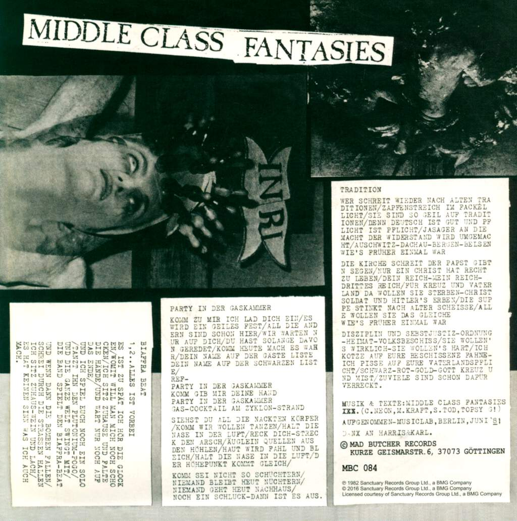 """Middle Class Fantasies: Tradition, 7"""" Single (Vinyl)"""