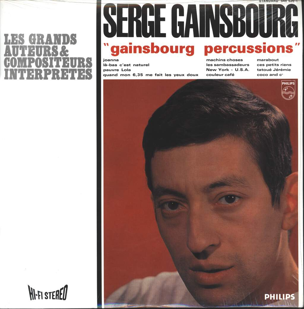 Serge Gainsbourg: Gainsbourg Percussions, LP (Vinyl)