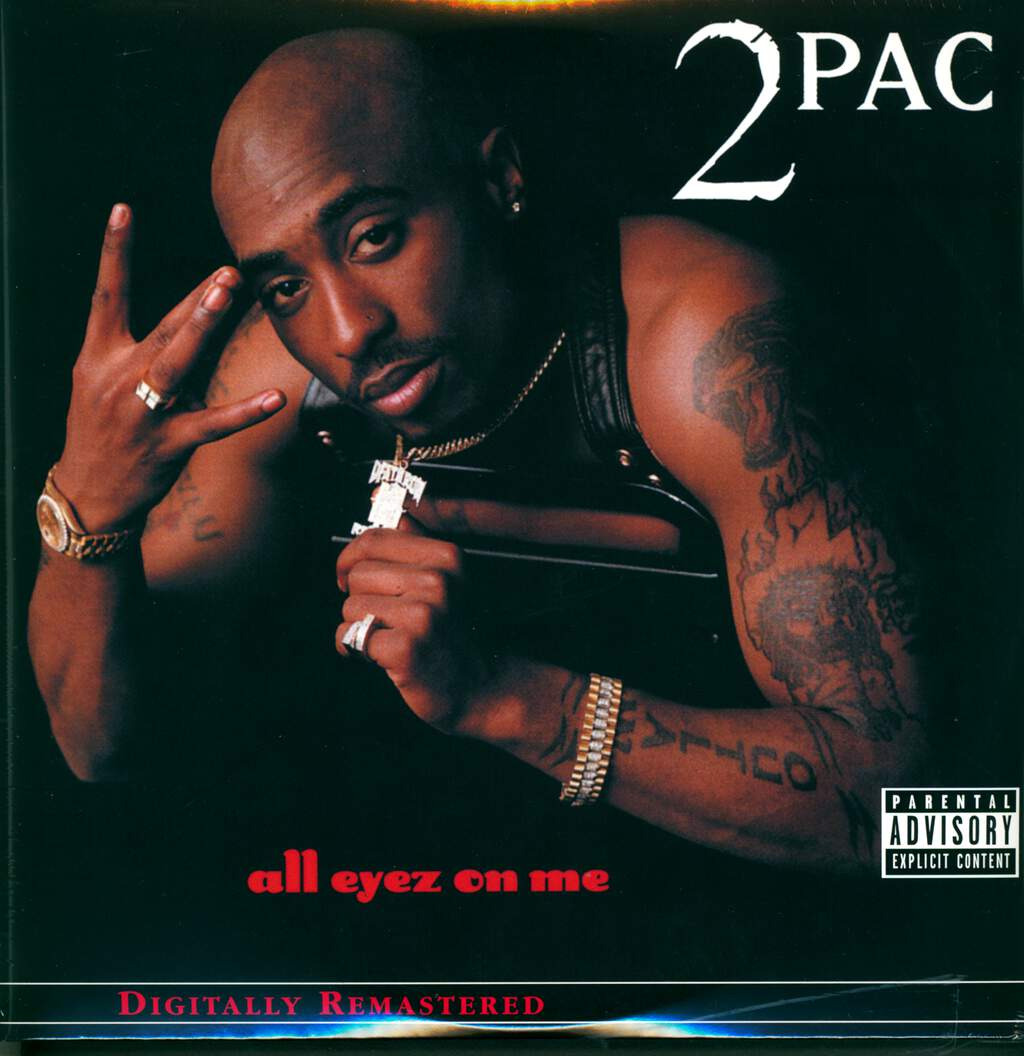 2pac: All Eyez On Me, 4×LP (Vinyl)