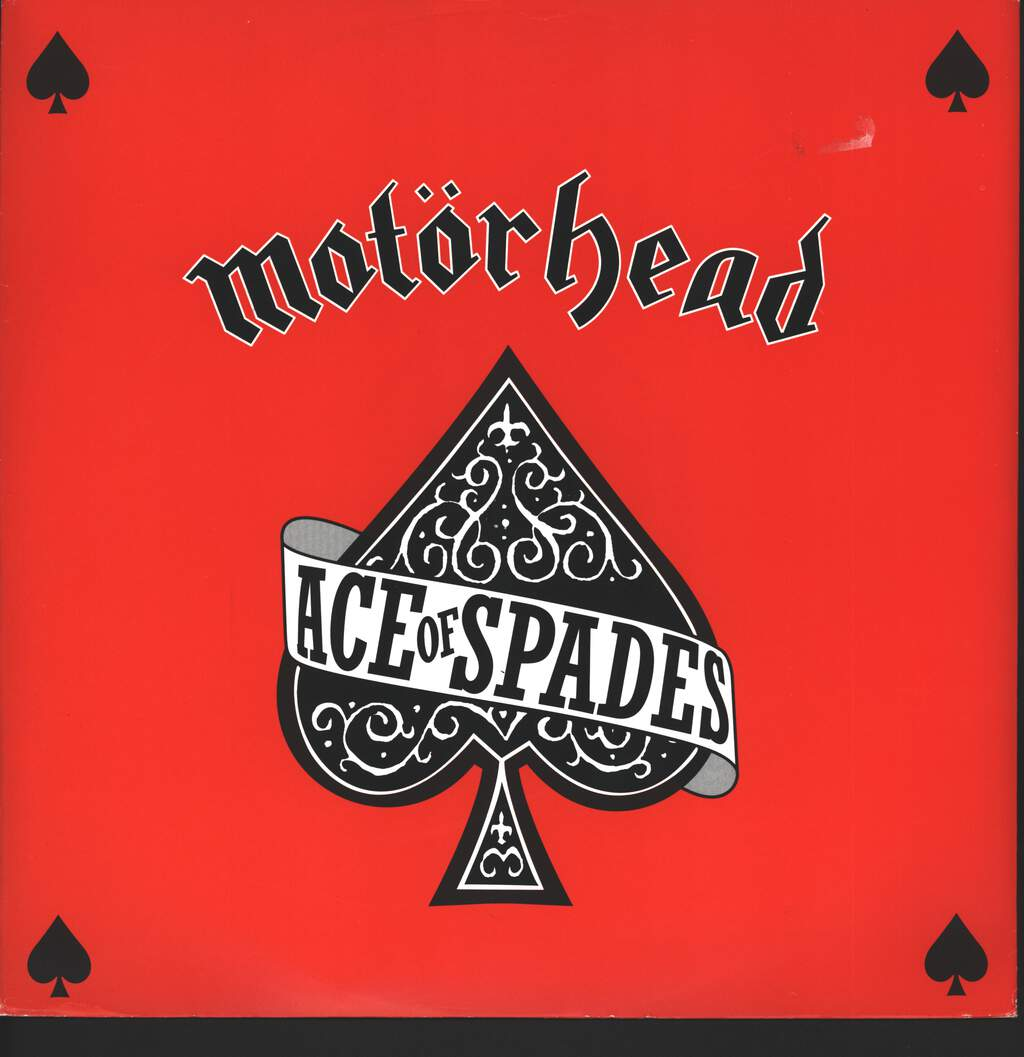 "Motörhead: Ace Of Spades, 12"" Maxi Single (Vinyl)"