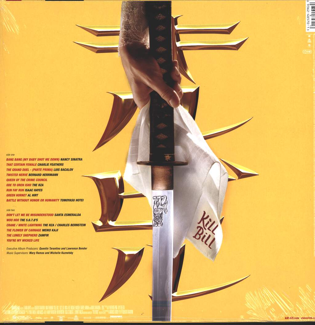 Various: Kill Bill Vol. 1 - Original Soundtrack, LP (Vinyl)