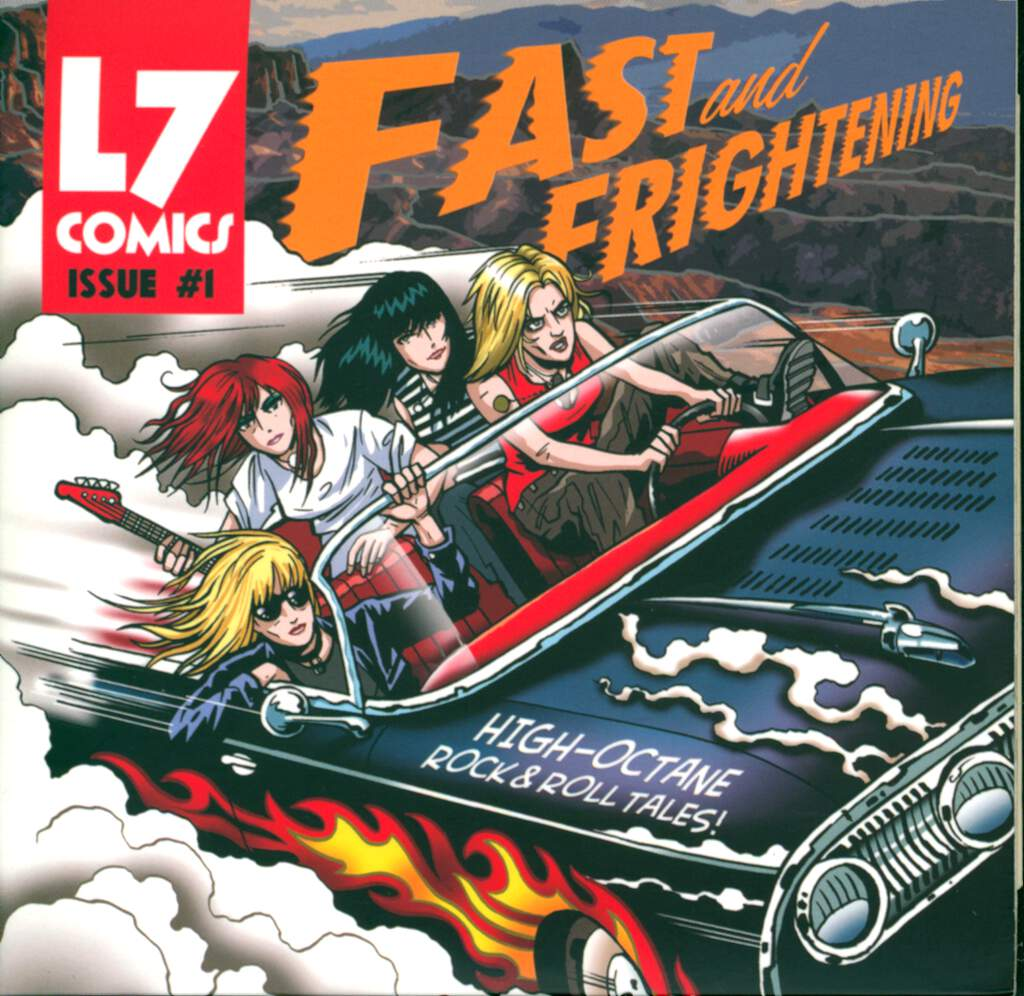 L7: Fast And Frightening, CD