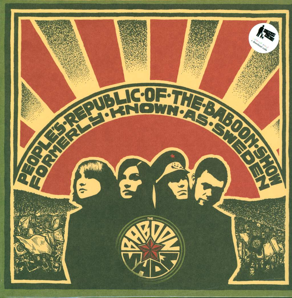 The Baboon Show: People's Republic Of The Baboon Show Formerly Known As Sweden, LP (Vinyl)