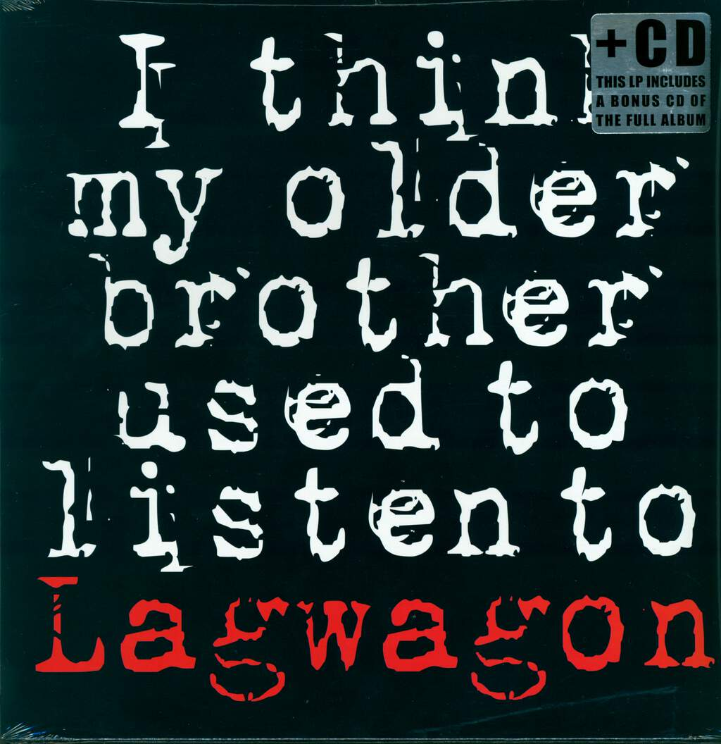 "Lagwagon: I Think My Older Brother Used To Listen To Lagwagon, 12"" Maxi Single (Vinyl)"