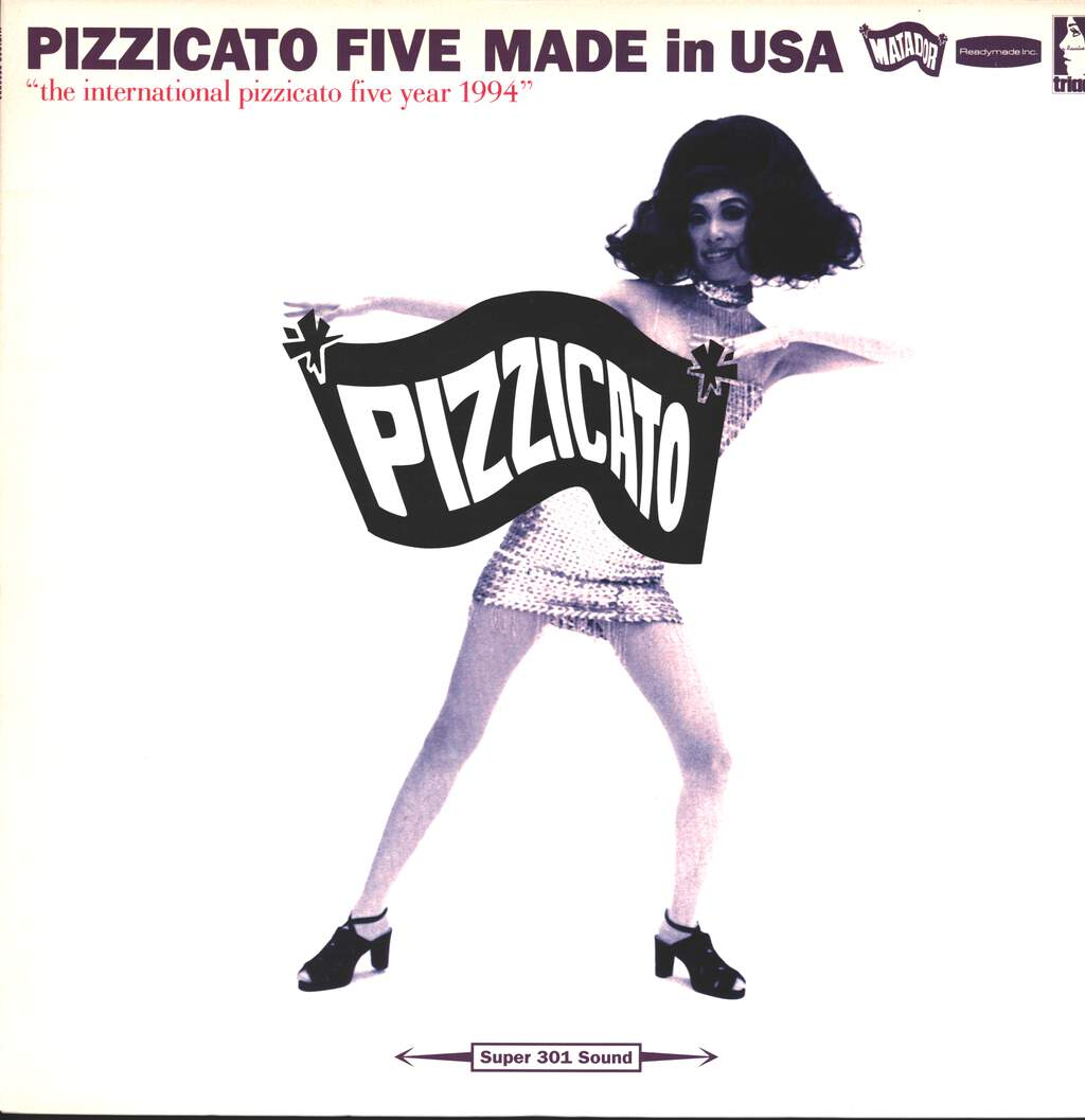 Pizzicato Five: Made In USA, LP (Vinyl)