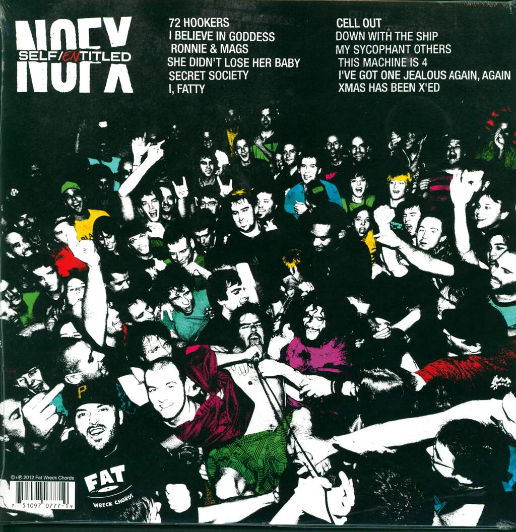 "NOFX: Self / Entitled, 12"" Maxi Single (Vinyl)"