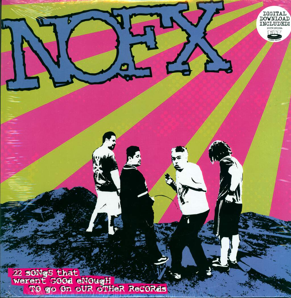 NOFX: 22 Songs That Weren't Good Enough To Go On Our Other Records, LP (Vinyl)