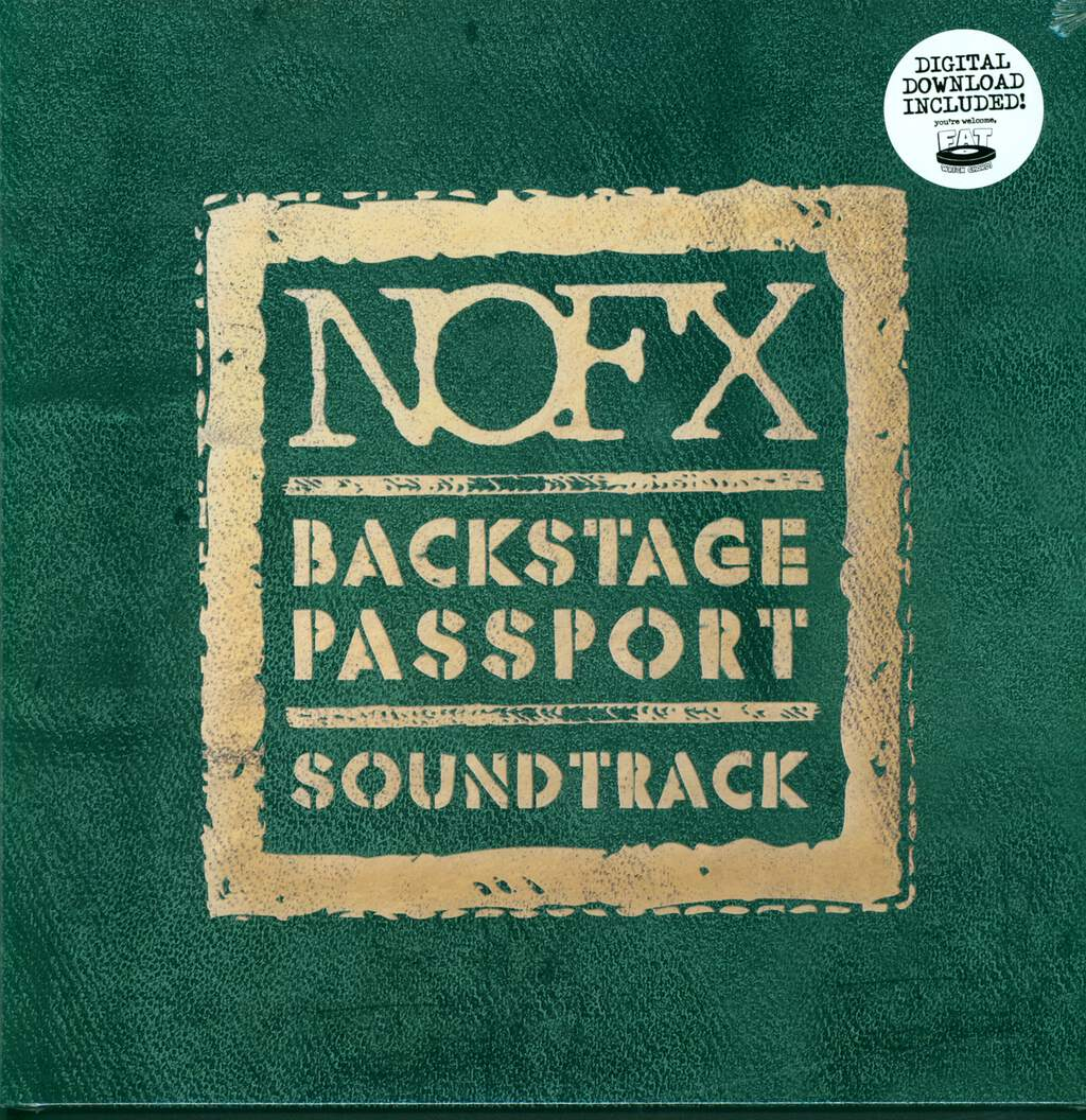 NOFX: Backstage Passport Soundtrack, LP (Vinyl)