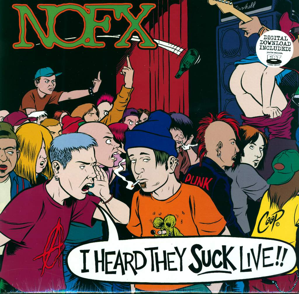 NOFX: I Heard They Suck Live!!, LP (Vinyl)