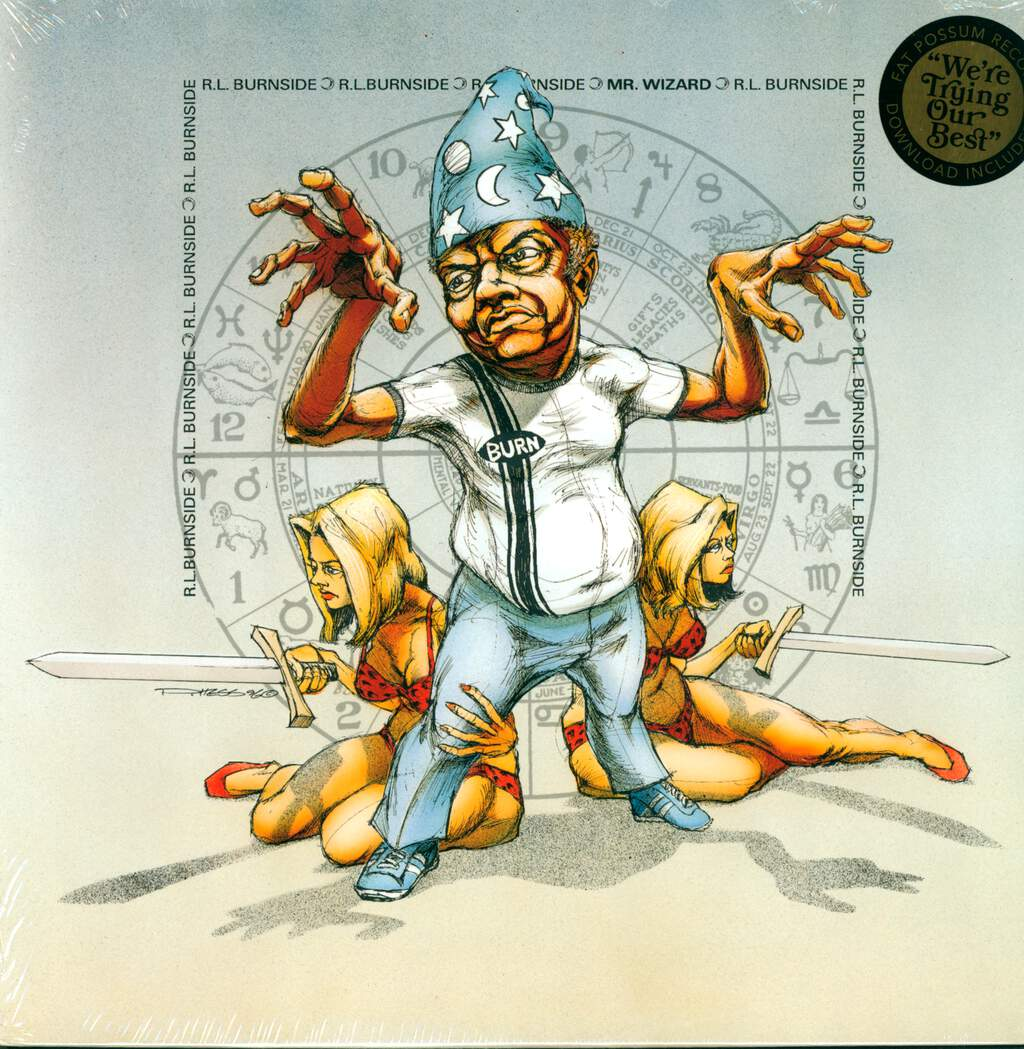 R.L. Burnside: Mr. Wizard, LP (Vinyl)