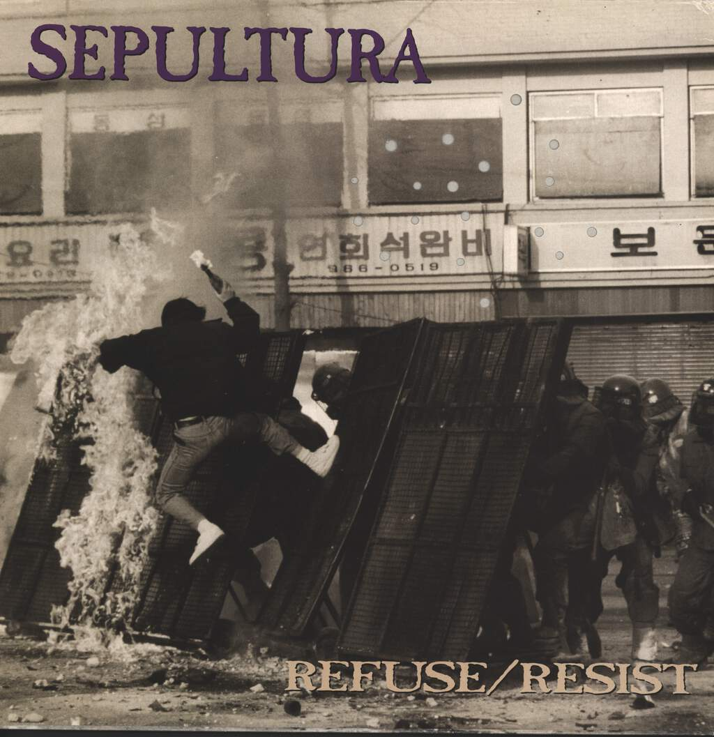 "Sepultura: Refuse/Resist, 12"" Maxi Single (Vinyl)"