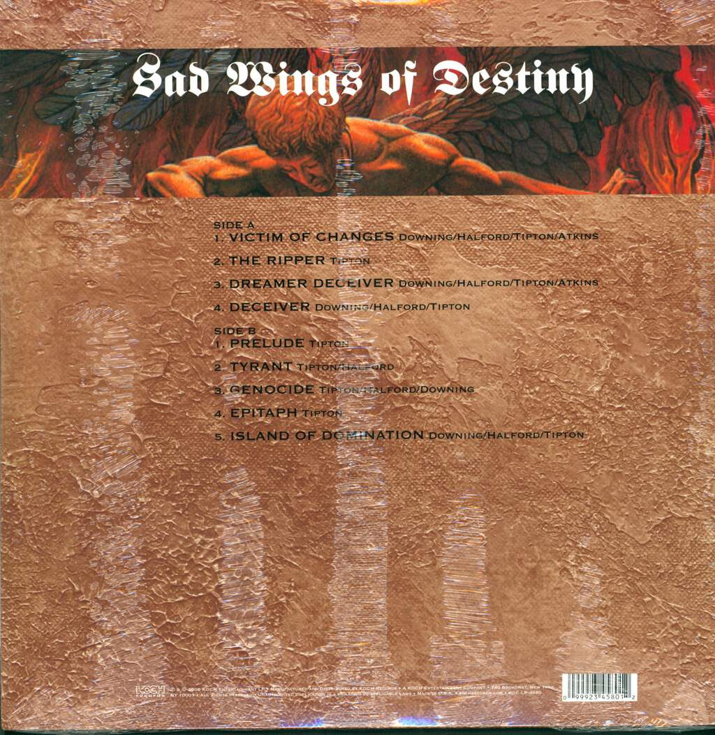 Judas Priest: Sad Wings Of Destiny, LP (Vinyl)