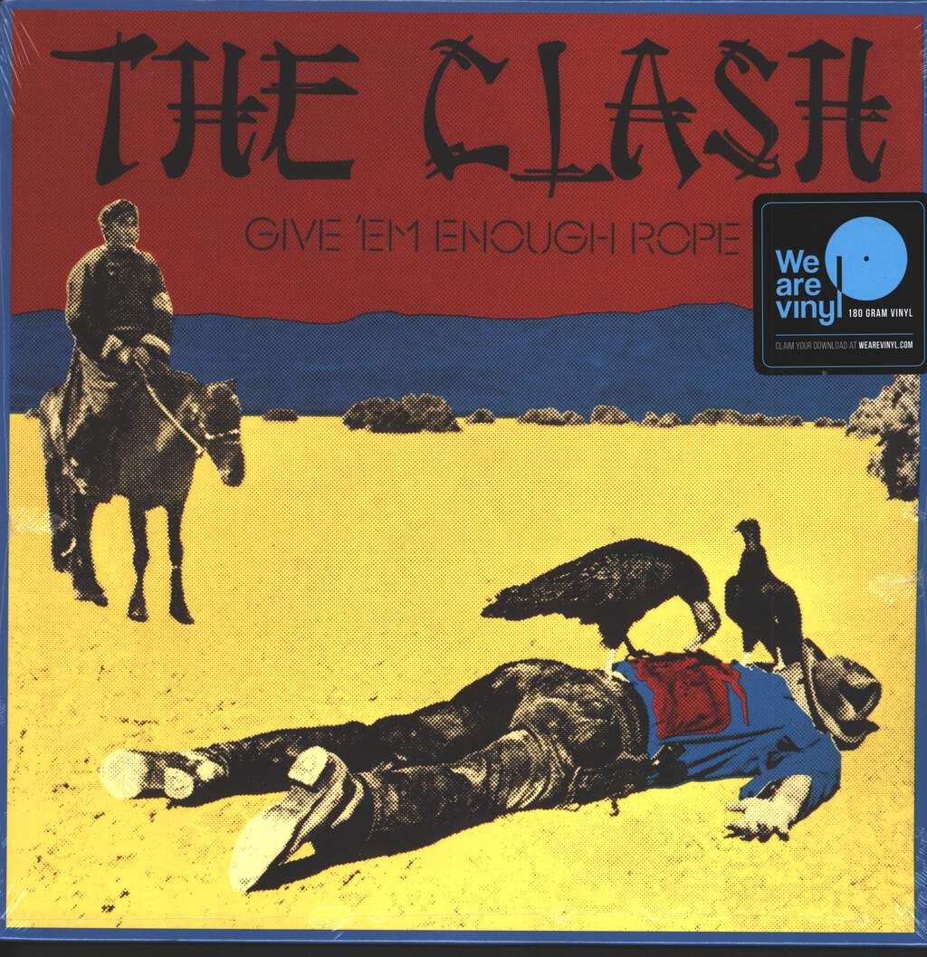 The Clash: Give 'Em Enough Rope, LP (Vinyl)