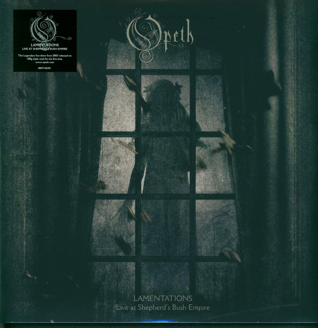 Opeth: Lamentations Live At Shepherd's Bush Empire, 3×LP (Vinyl)
