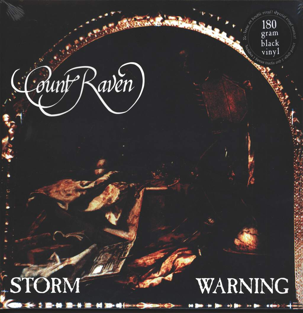 Count Raven: Storm Warning, 2×LP (Vinyl)