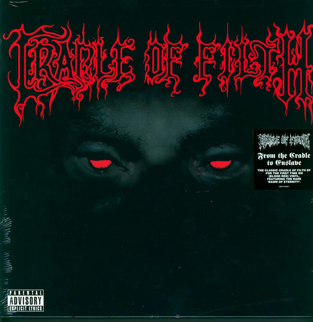 "Cradle Of Filth: From The Cradle To Enslave E.P., 12"" Maxi Single (Vinyl)"