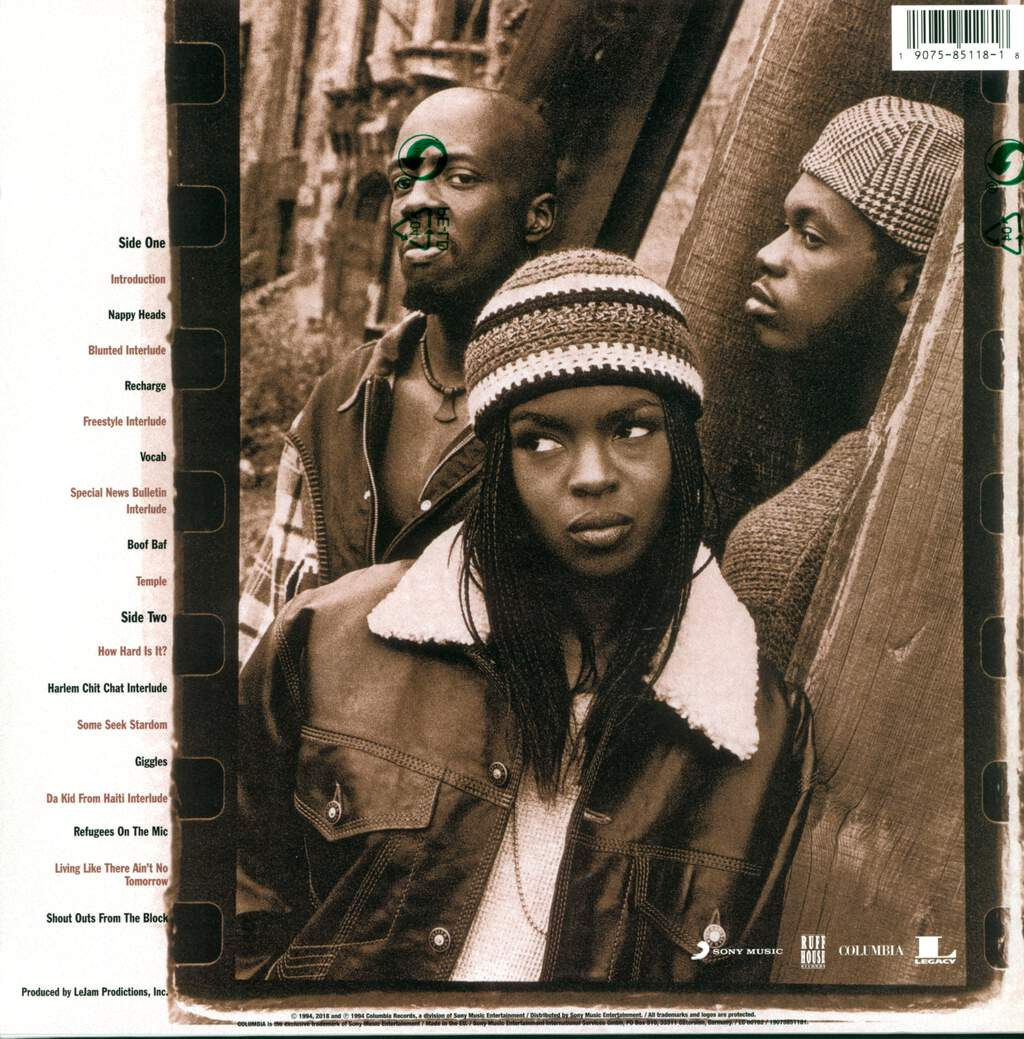 Fugees: Blunted On Reality, LP (Vinyl)