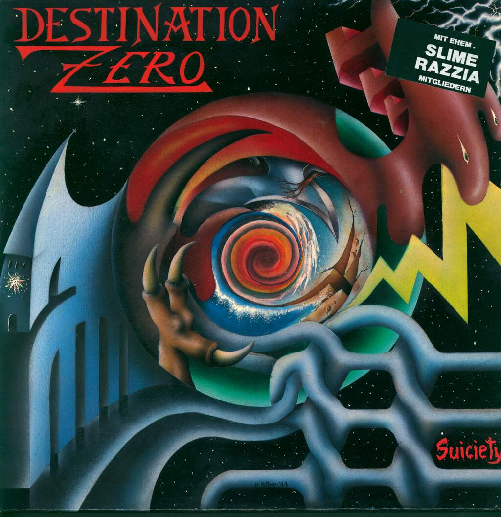 Destination Zero: Suiciety, LP (Vinyl)