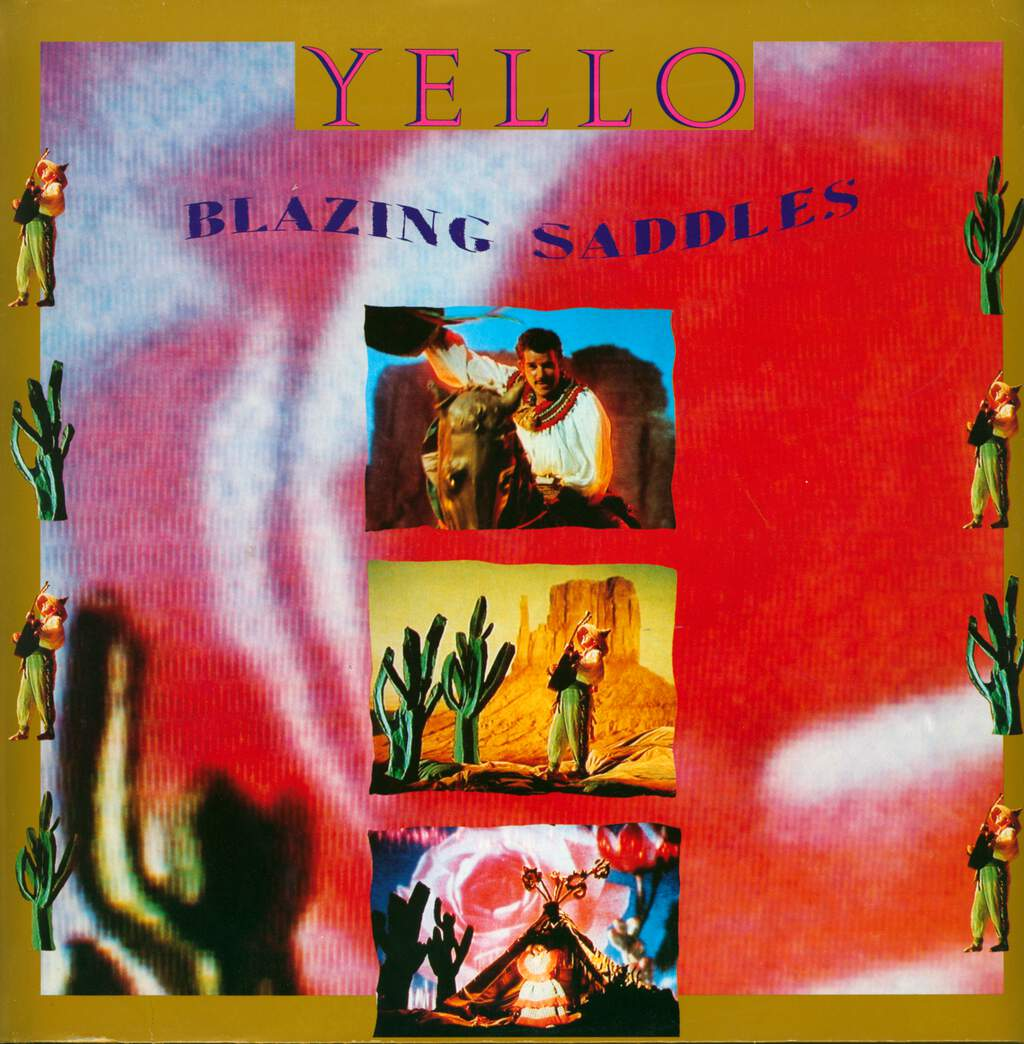 "Yello: Blazing Saddles, 12"" Maxi Single (Vinyl)"