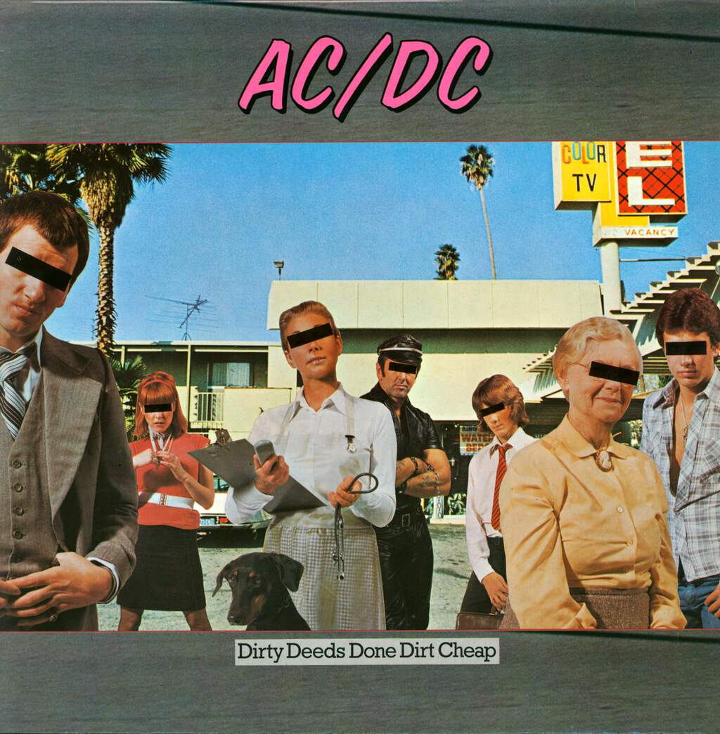 AC/DC: Dirty Deeds Done Dirt Cheap, LP (Vinyl)